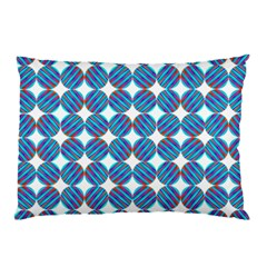 Geometric Dots Pattern Rainbow Pillow Case by Nexatart