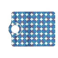 Geometric Dots Pattern Rainbow Kindle Fire Hd (2013) Flip 360 Case by Nexatart