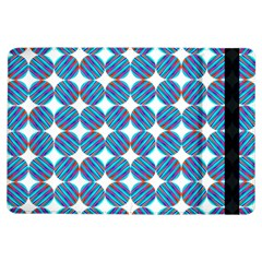 Geometric Dots Pattern Rainbow Ipad Air Flip by Nexatart