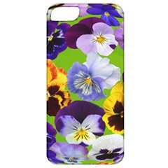 Spring Pansy Blossom Bloom Plant Apple Iphone 5 Classic Hardshell Case by Nexatart