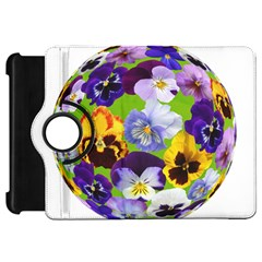 Spring Pansy Blossom Bloom Plant Kindle Fire Hd 7  by Nexatart