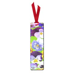 Spring Pansy Blossom Bloom Plant Small Book Marks by Nexatart