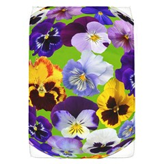 Spring Pansy Blossom Bloom Plant Flap Covers (s)  by Nexatart
