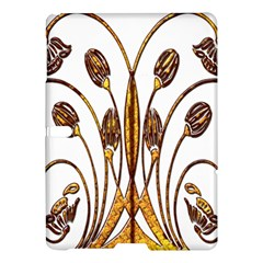 Scroll Gold Floral Design Samsung Galaxy Tab S (10 5 ) Hardshell Case  by Nexatart