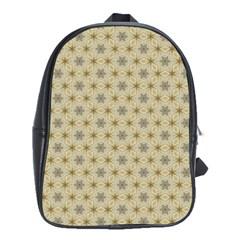 Star Basket Pattern Basket Pattern School Bags(large)  by Nexatart