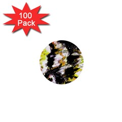 Canvas Acrylic Digital Design 1  Mini Buttons (100 Pack)  by Nexatart