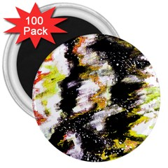 Canvas Acrylic Digital Design 3  Magnets (100 Pack) by Nexatart