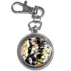 Canvas Acrylic Digital Design Key Chain Watches by Nexatart