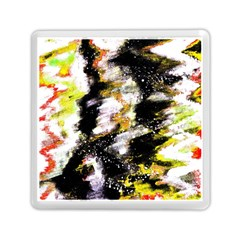 Canvas Acrylic Digital Design Memory Card Reader (square)  by Nexatart