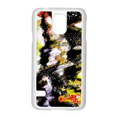 Canvas Acrylic Digital Design Samsung Galaxy S5 Case (white)