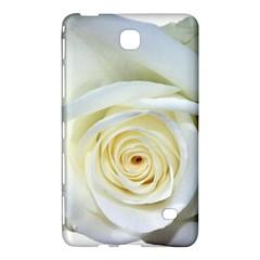 Flower White Rose Lying Samsung Galaxy Tab 4 (7 ) Hardshell Case  by Nexatart