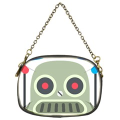 Robot Chain Purses (two Sides)  by BestEmojis