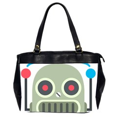 Robot Office Handbags (2 Sides)  by BestEmojis