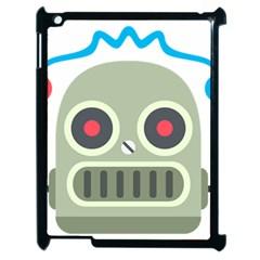 Robot Apple Ipad 2 Case (black) by BestEmojis