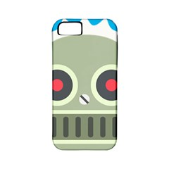 Robot Apple iPhone 5 Classic Hardshell Case (PC+Silicone) by BestEmojis