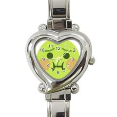 Barf Heart Italian Charm Watch by BestEmojis