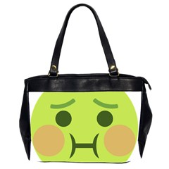 Barf Office Handbags (2 Sides)  by BestEmojis