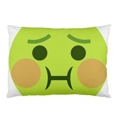 Barf Pillow Case (two Sides) by BestEmojis