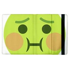 Barf Apple Ipad 3/4 Flip Case by BestEmojis