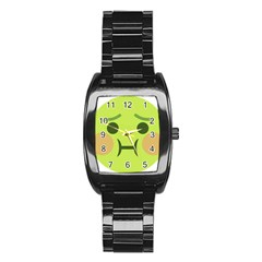Barf Stainless Steel Barrel Watch by BestEmojis
