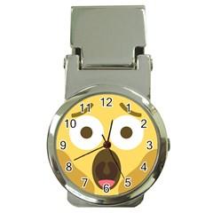 Scream Emoji Money Clip Watches by BestEmojis