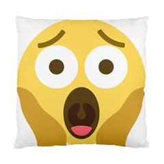 Scream Emoji Standard Cushion Case (one Side) by BestEmojis