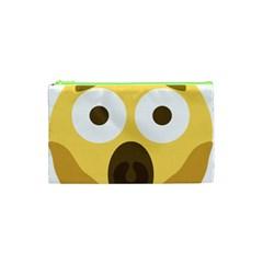Scream Emoji Cosmetic Bag (xs) by BestEmojis