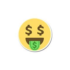 Money Face Emoji Golf Ball Marker by BestEmojis