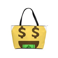 Money Face Emoji Shoulder Handbags by BestEmojis