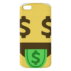 Money Face Emoji Iphone 5s/ Se Premium Hardshell Case by BestEmojis