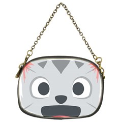 Cat Smile Chain Purses (two Sides)  by BestEmojis
