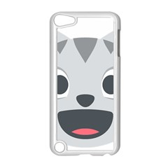 Cat Smile Apple Ipod Touch 5 Case (white) by BestEmojis