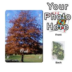 Tree Garden Deckb X1 By Fccdad   Playing Cards 54 Designs   P1ltjkd9ltc4   Www Artscow Com Front - Diamond5