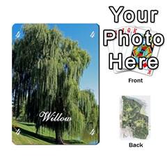 Jack Tree Garden Deckb X1 By Fccdad   Playing Cards 54 Designs   P1ltjkd9ltc4   Www Artscow Com Front - DiamondJ