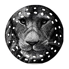 My Lion Sketch Ornament (round Filigree) by 1871930