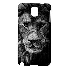 My Lion Sketch Samsung Galaxy Note 3 N9005 Hardshell Case by 1871930