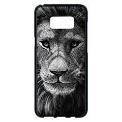 My Lion Sketch Samsung Galaxy S8 Plus Black Seamless Case by 1871930