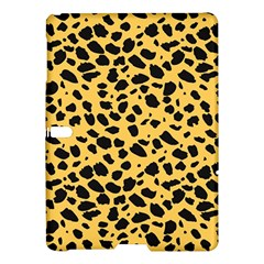Skin Animals Cheetah Dalmation Black Yellow Samsung Galaxy Tab S (10 5 ) Hardshell Case  by Mariart