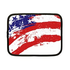 Red White Blue Star Flag Netbook Case (small)  by Mariart