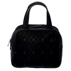Star Black Classic Handbags (one Side) by Mariart