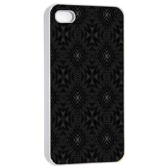 Star Black Apple Iphone 4/4s Seamless Case (white) by Mariart
