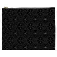 Star Black Cosmetic Bag (xxxl)  by Mariart