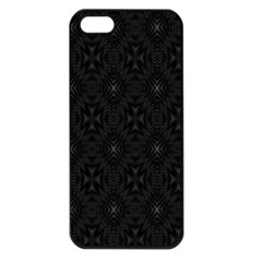 Star Black Apple Iphone 5 Seamless Case (black) by Mariart