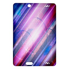 Widescreen Polka Star Space Polkadot Line Light Chevron Waves Circle Amazon Kindle Fire Hd (2013) Hardshell Case by Mariart