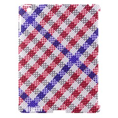 Webbing Wicker Art Red Bluw White Apple Ipad 3/4 Hardshell Case (compatible With Smart Cover) by Mariart
