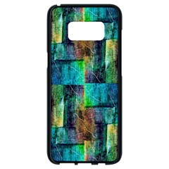 Abstract Square Wall Samsung Galaxy S8 Black Seamless Case by Costasonlineshop