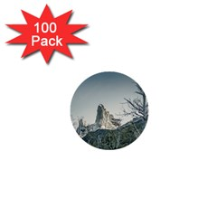 Fitz Roy Mountain, El Chalten Patagonia   Argentina 1  Mini Buttons (100 Pack)  by dflcprints