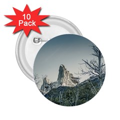 Fitz Roy Mountain, El Chalten Patagonia   Argentina 2 25  Buttons (10 Pack)  by dflcprints
