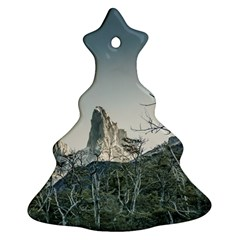 Fitz Roy Mountain, El Chalten Patagonia   Argentina Christmas Tree Ornament (two Sides) by dflcprints