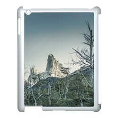 Fitz Roy Mountain, El Chalten Patagonia   Argentina Apple Ipad 3/4 Case (white) by dflcprints